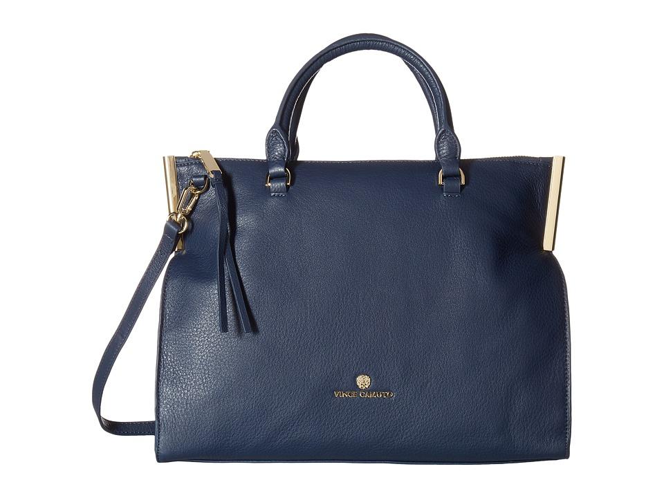 Vince Camuto - Tina Satchel (Dress Blue) Satchel Handbags