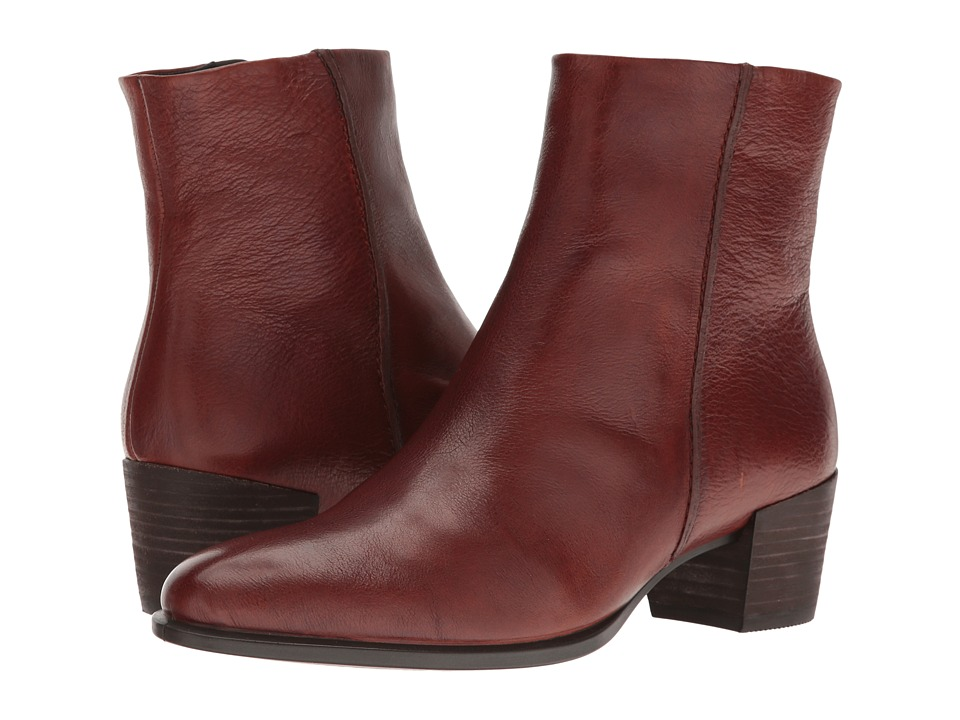 ECCO Shape 35 Ankle Boot (Cognac) Women