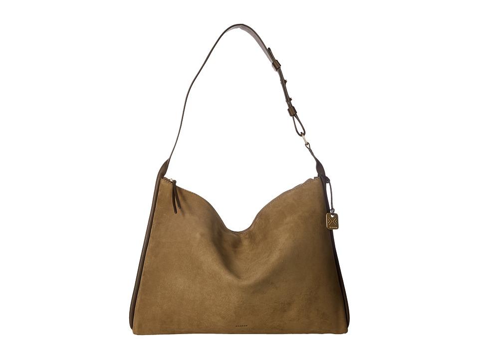Skagen Anesa Shoulder Bag (Dark Green) Shoulder Handbags