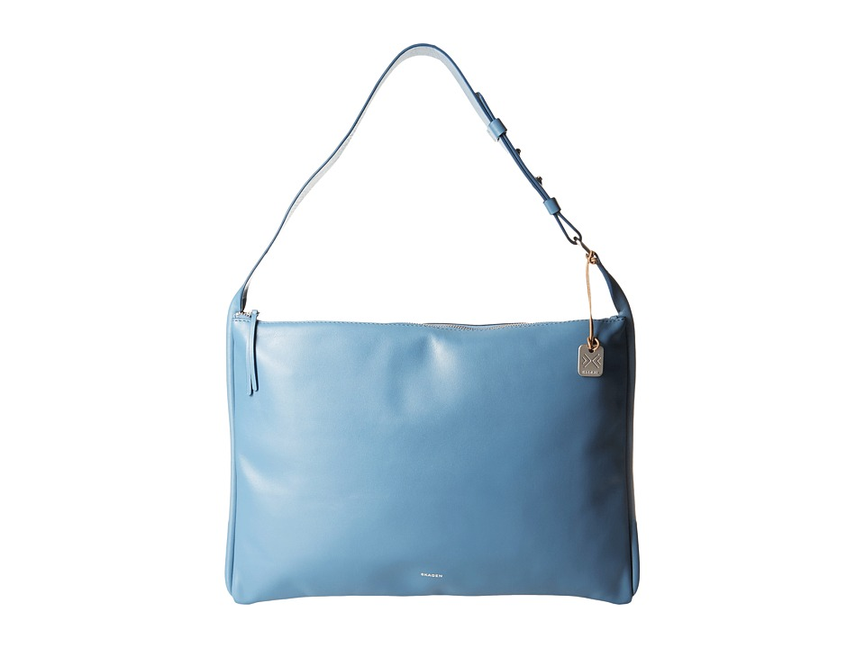 Skagen Anesa Shoulder Bag (Smokey Blue) Shoulder Handbags