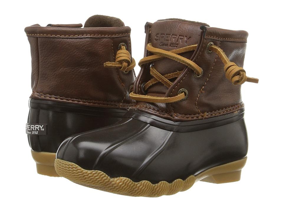 Sperry Top-Sider Saltwater Boot (Toddler/Little Kid) (Bro...