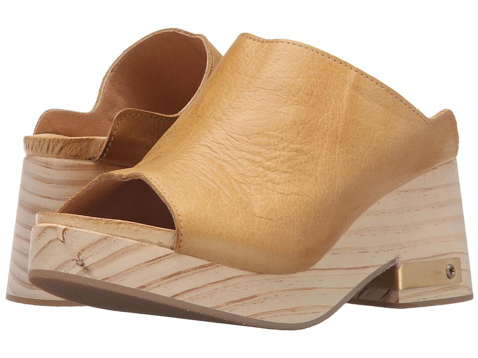Free People Orange Moon Clog Sand Womens Clog Shoes