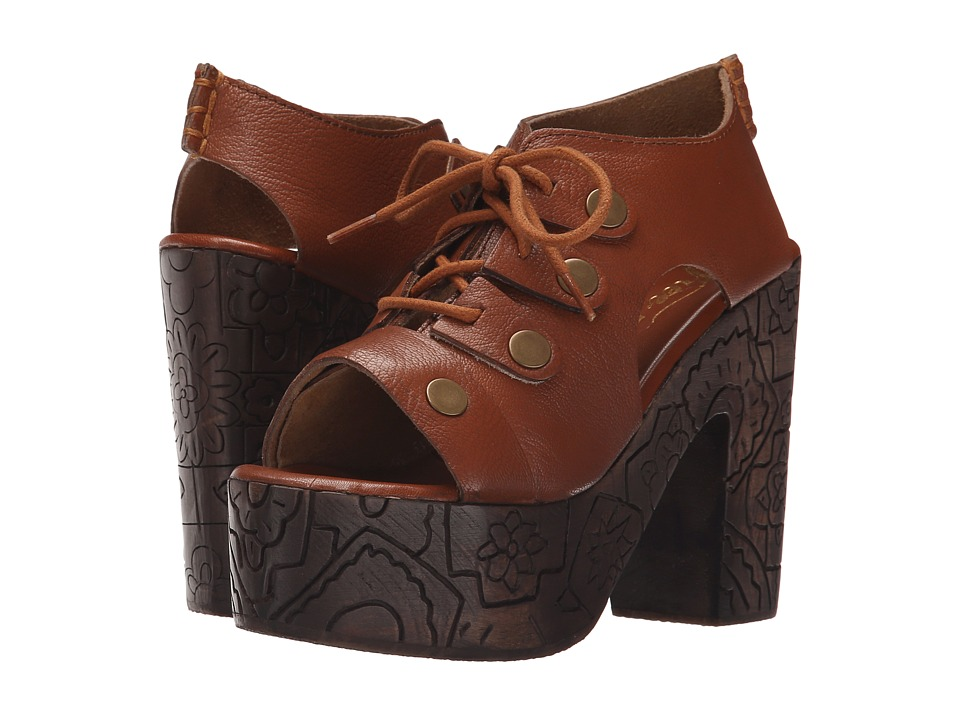 Free People Farrah Clog Whiskey Womens Clog Shoes