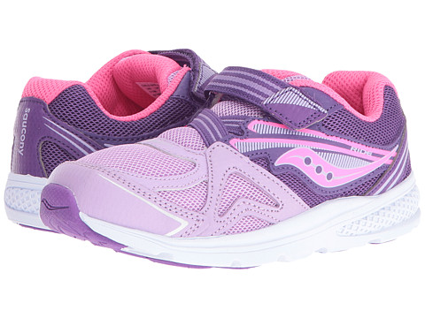 Saucony Kids Ride (Toddler/Little Kid) - Purple 1