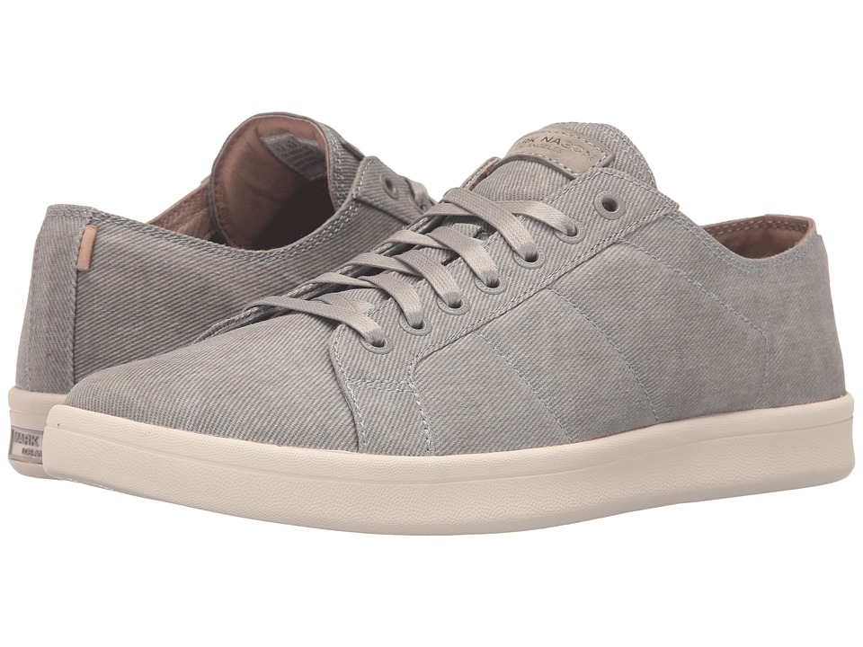 Mark Nason - Vista (Gray Canvas/White/Sand Bottom) Mens Shoes