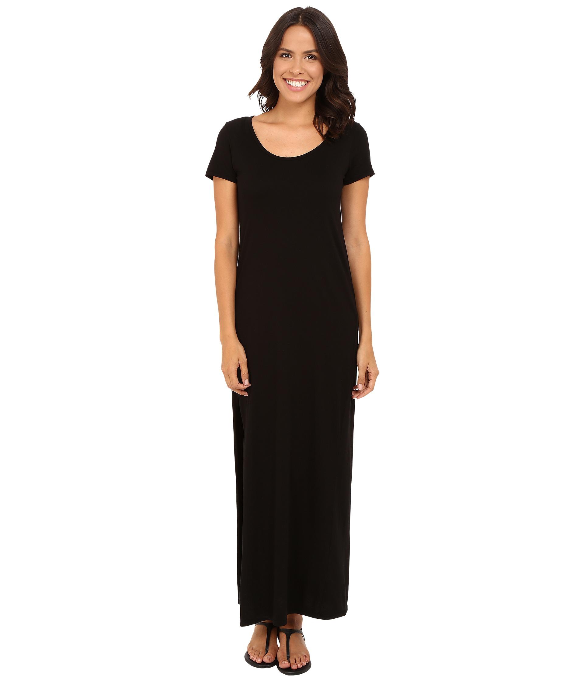 Michael stars tee shirt maxi dress with slit for Michael stars tee shirts