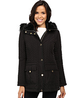 Jessica Simpson - Quilted Anorak w/ Removable Hood and Faux Fur