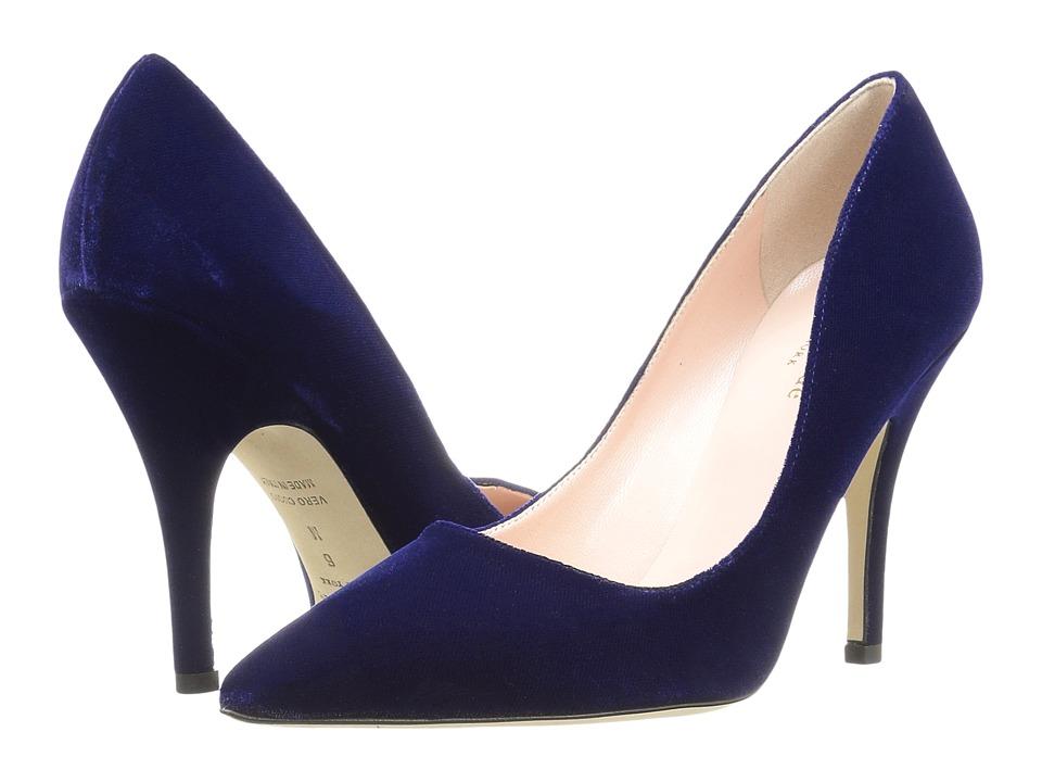 Kate Spade New York Licorice (Ink Blue Velvet) High Heel Shoes