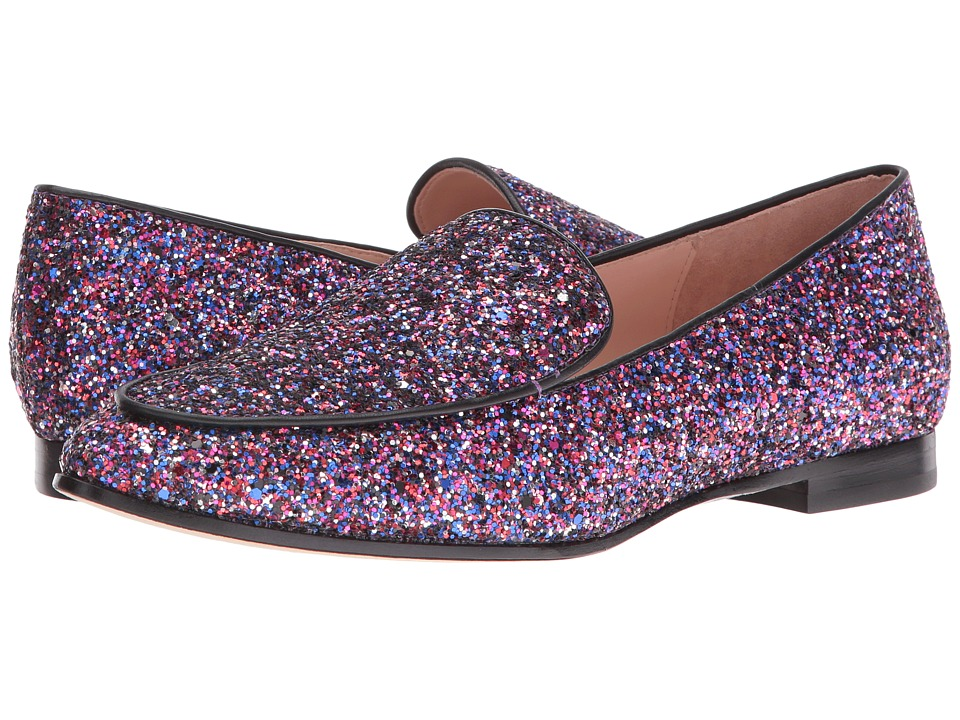Kate Spade New York Calliope (Purple Multi Glitter/Black Nappa) Women