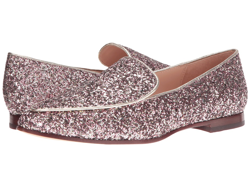Kate Spade New York Calliope (Rose Gold Multi Glitter/Platino Metallic Nappa) Women