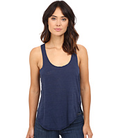 HEATHER - Cotton & Gauze Panel Tank Top