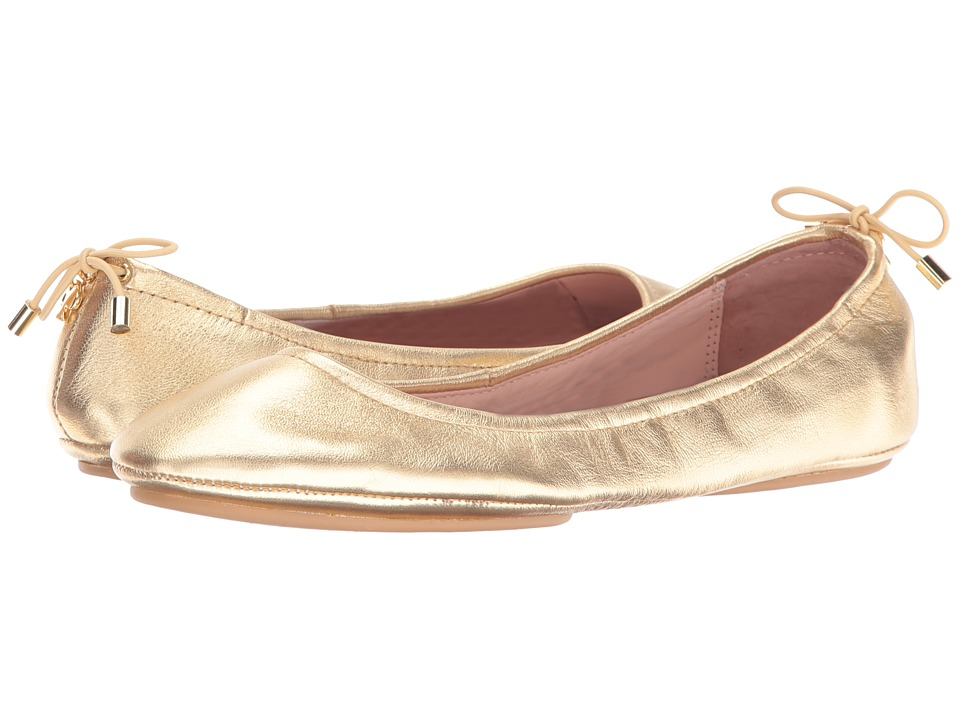 Kate Spade New York - Globe (Gold Metallic Nappa) Womens Shoes
