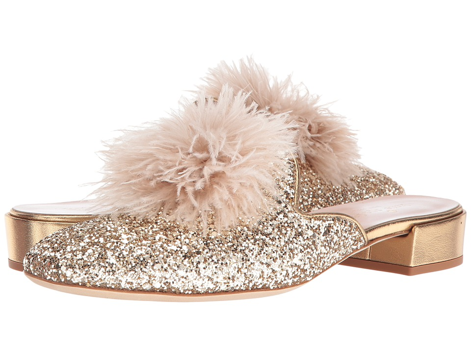 Kate Spade New York Gala (Gold Glitter/Metallic Nappa) Women