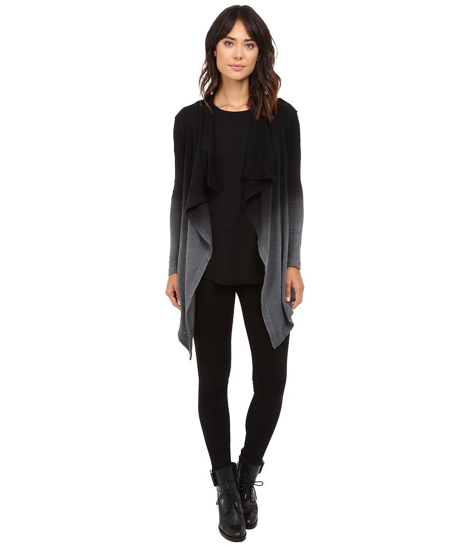 HEATHER - Ombre Long Sleeve Cardi (Grey Ombre) Women