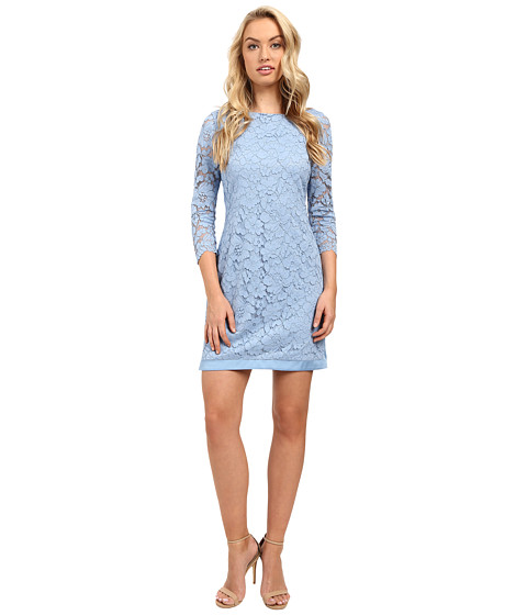 Vince Camuto Lace 3/4 Sleeve Tee Body with Combo