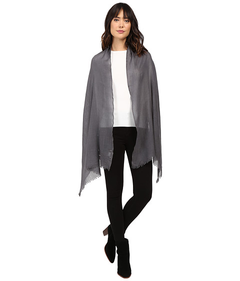 Love Quotes Travel Weight Cashmere Scarf - Cement