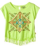 Lucky Brand Kids - Aztec Mandala Fringe Tee (Big Kids)