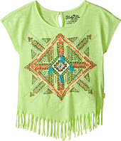 Lucky Brand Kids - Aztec Mandala Fringe Tee (Little Kids)