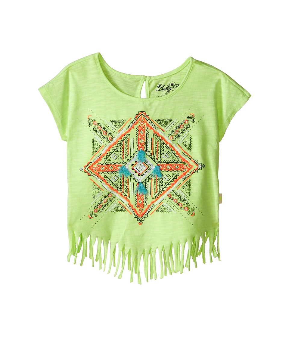 Lucky Brand Kids Aztec Mandala Fringe Tee Toddler Star Fruit Girls T Shirt