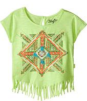 Lucky Brand Kids - Aztec Mandala Fringe Tee (Toddler)
