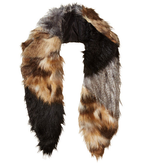 Michael Stars Faux-Real Faux Fur Scarf - Multi