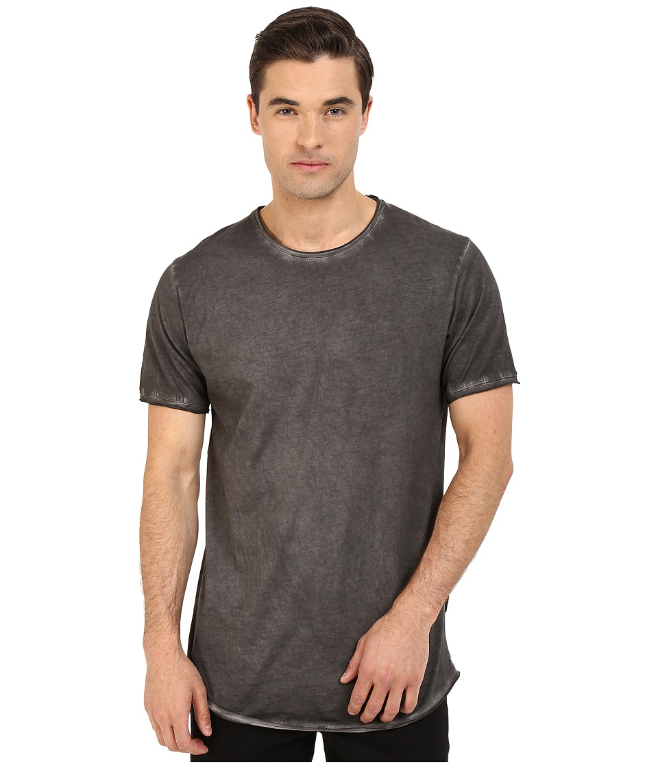 Publish Edgar Oil Washed Tee Black Mens T Shirt