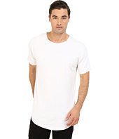 Publish - Beckham - Distressed Scallop Bottom Tee