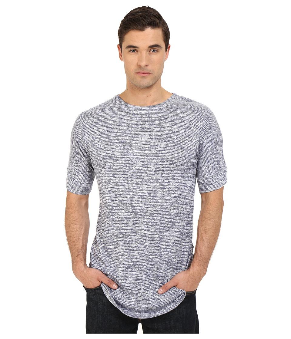 Publish Harbin Knit Tee Blue Mens T Shirt