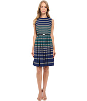 Calvin Klein - Stripe Fit & Flare Dress CD5XB3W5