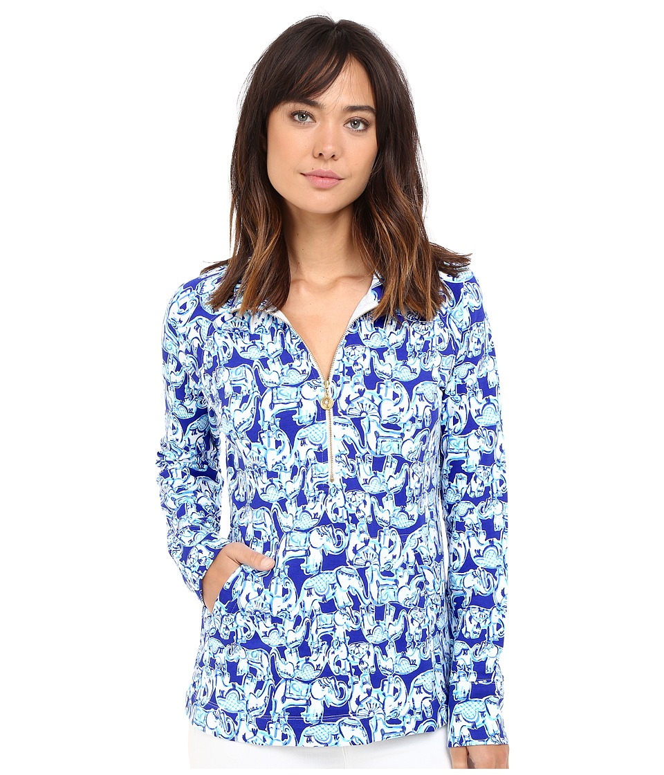 Lilly Pulitzer - Skipper Popover (Bomber Blue Get Trunky) Women