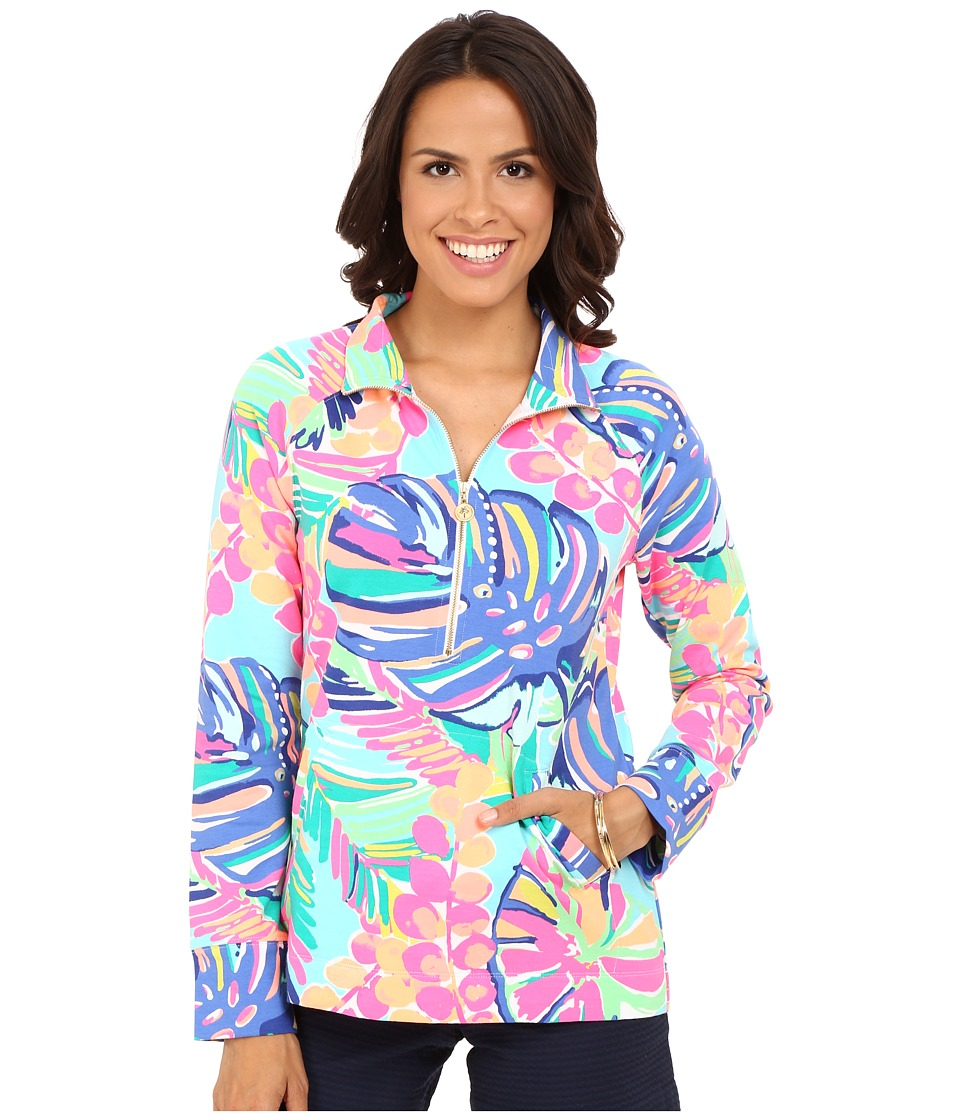 Lilly Pulitzer - Skipper Popover (Multi Exotic Garden) Women