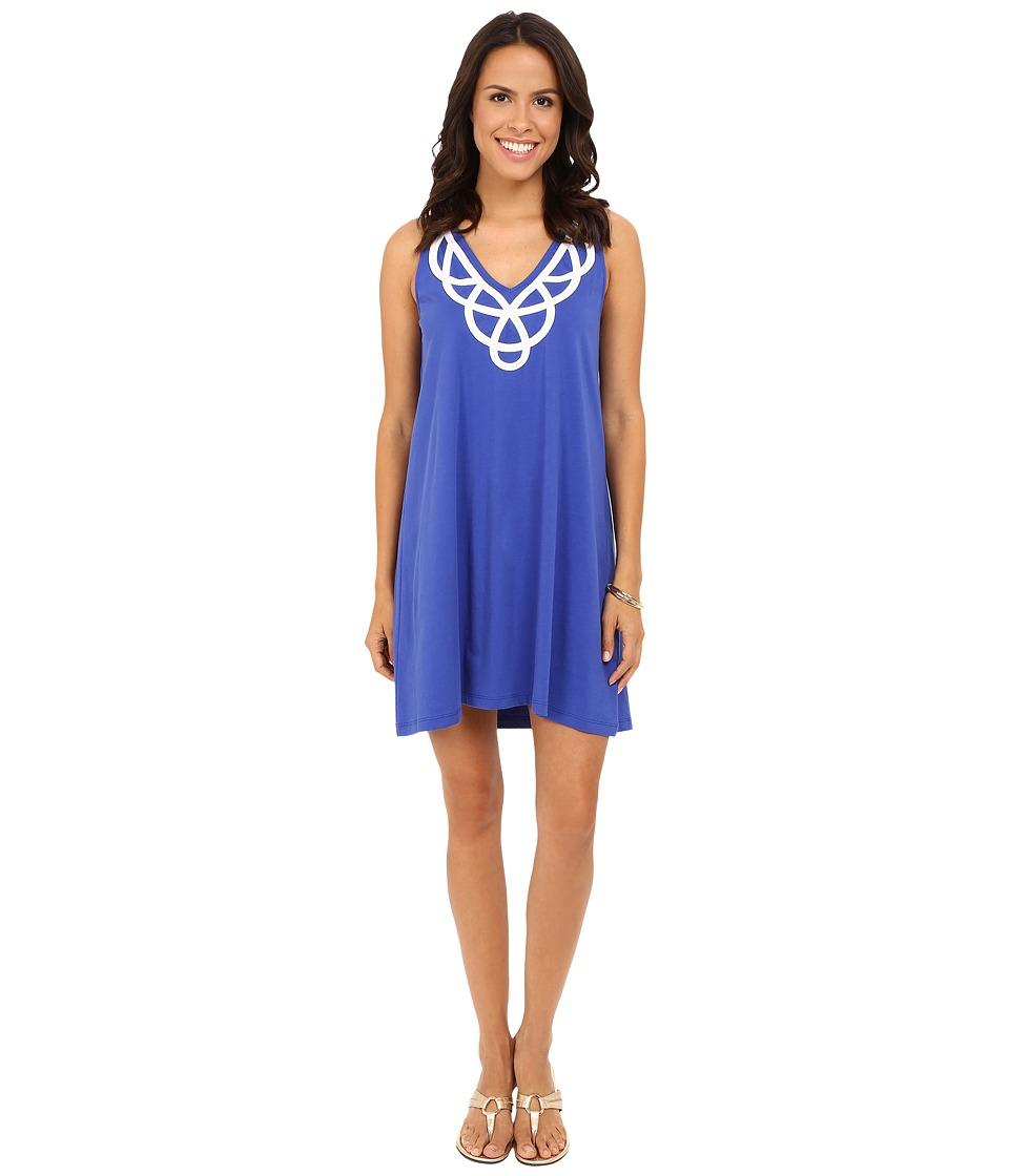 Lilly Pulitzer Blythe Dress (Bomber Blue) Women