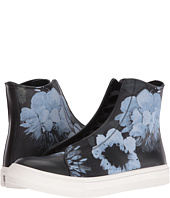 Alexander McQueen - Floral Painted High Top Sneaker