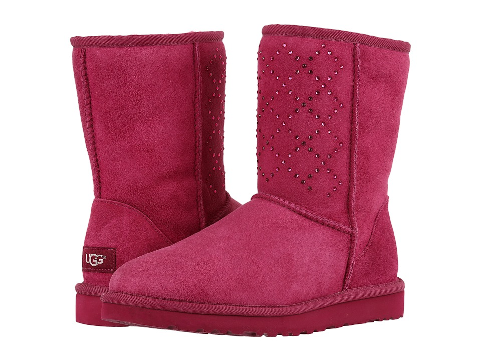 UGG Classic Short Crystal Diamond (Lonely Hearts) Women