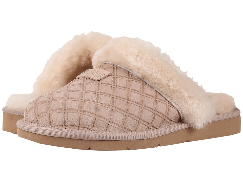 UGG Cozy Double Diamond (Freshwater Pearl) Women
