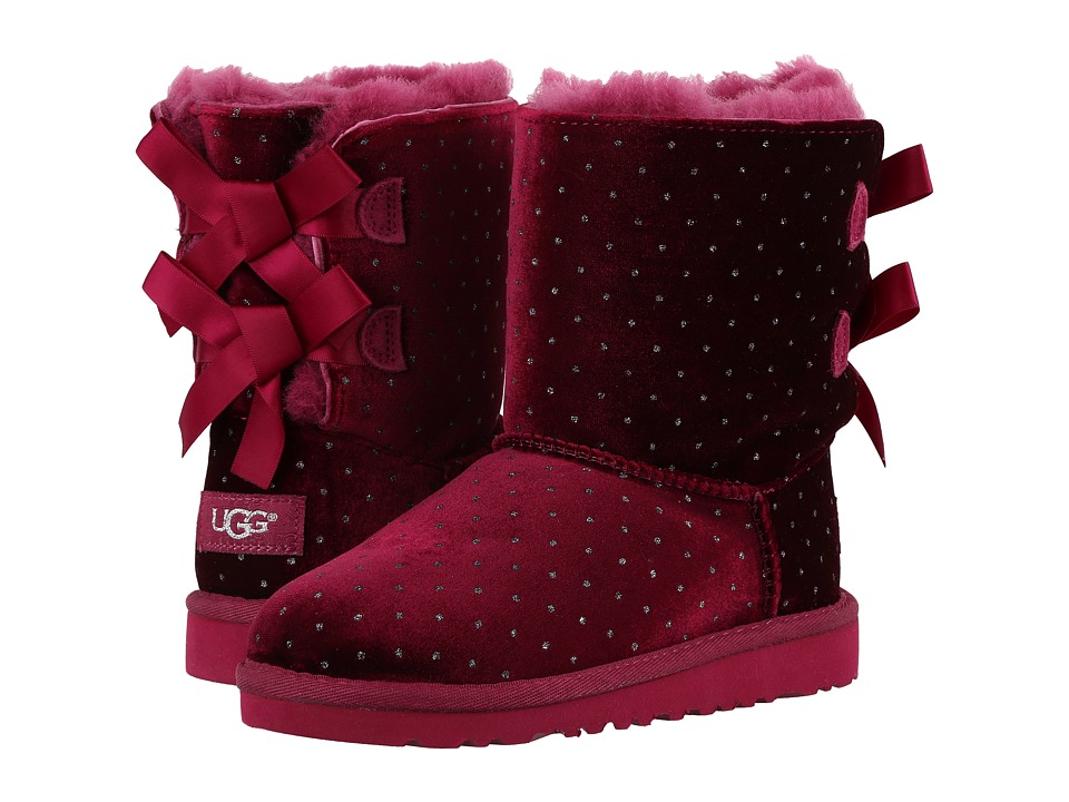 UGG Kids Bailey Bow Starlight (Little Kid/Big Kid) (Lonely Hearts) Girls Shoes