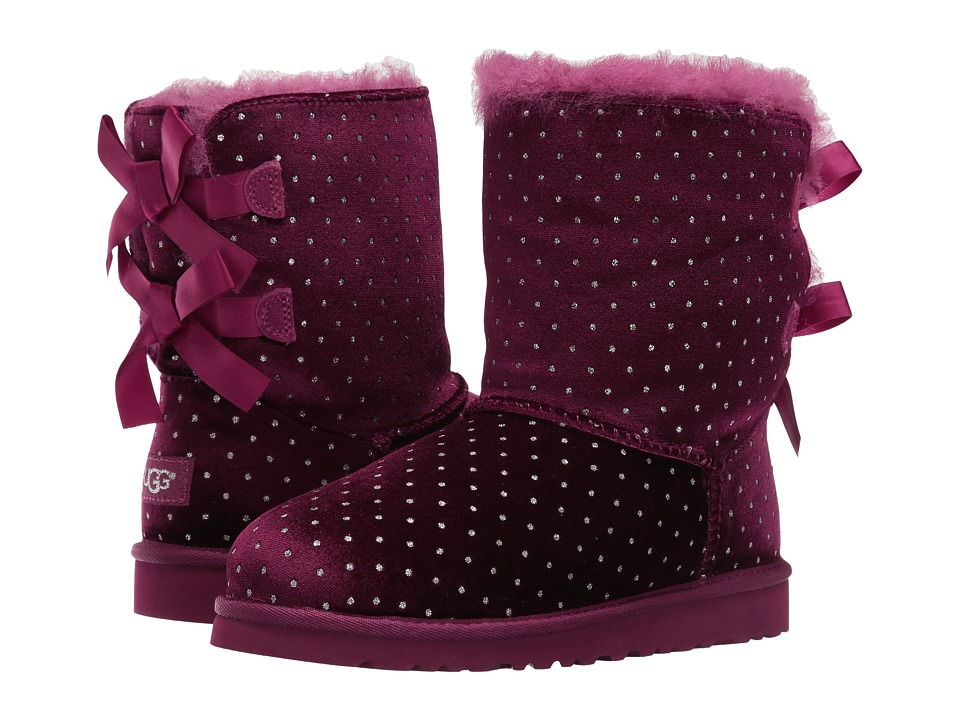 UGG Kids Bailey Bow Starlight (Big Kid) (Lonely Hearts) Girls Shoes