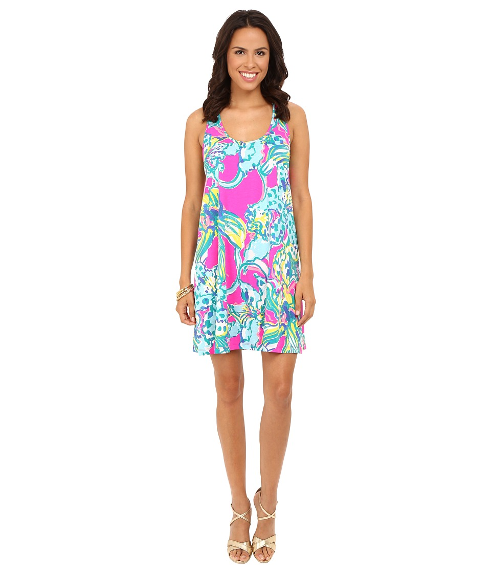 Lilly Pulitzer Melle Dress (Magenta Hottie Reduced) Women