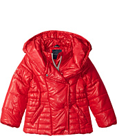 Tommy Hilfiger Kids - Pillow Collar Puffer Jacket (Big Kids)