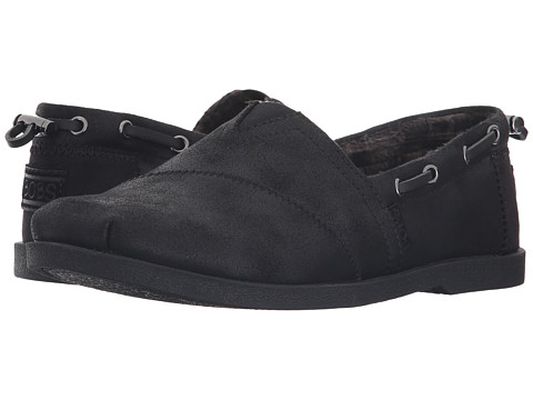 BOBS from SKECHERS Chill Luxe - Buttoned Up - Black