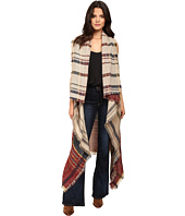 Vince Camuto - Color Block Plaid Vest