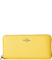 COACH - Crossgrain Leather Accordian Zip Wallet