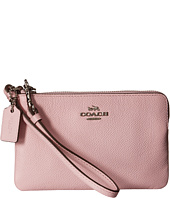 COACH - Crossgrain Corner Zip