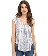 Lucky Brand - Inset Lace Top