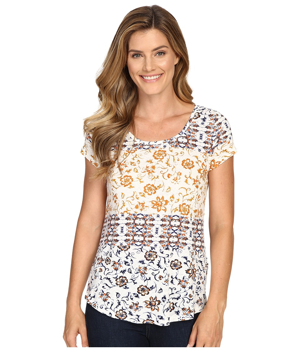 Lucky Brand - Maluya Floral Tee (Red Multi) Women