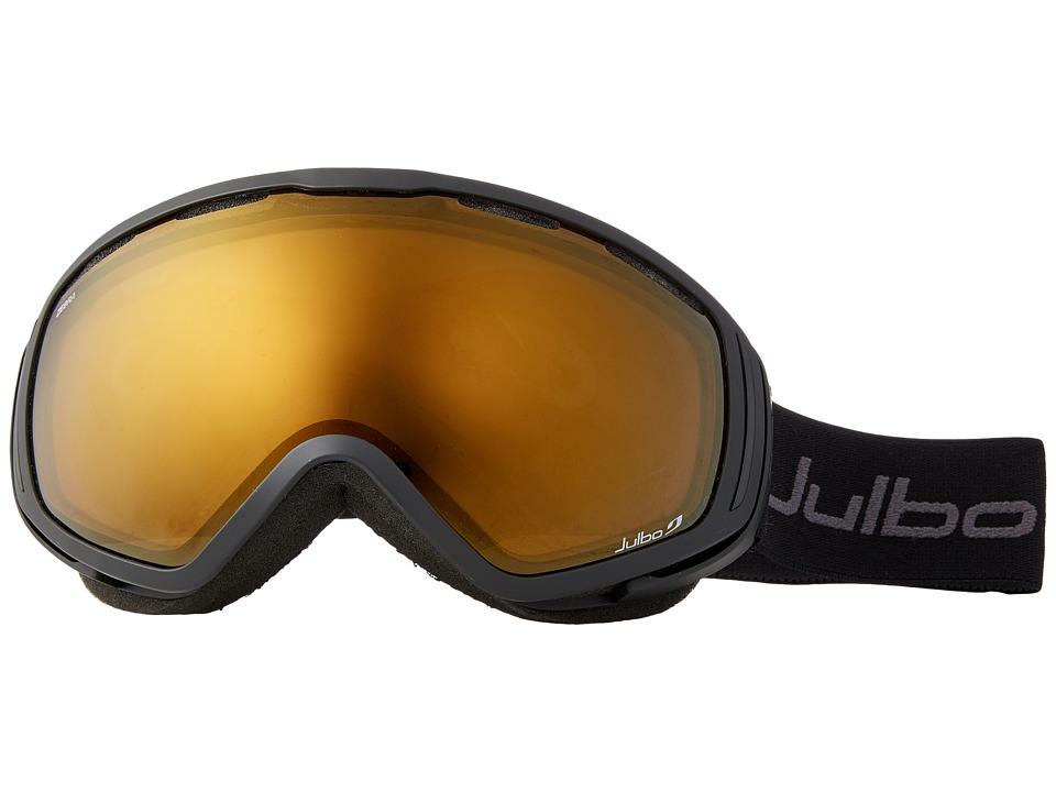 Julbo Eyewear Titan OTG Goggles (Black With Zebra Photochromic Lens) Snow Goggles