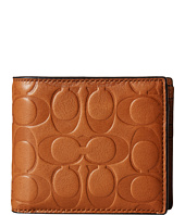 COACH - Signature Embossed Sport Calf Compact ID Wallet