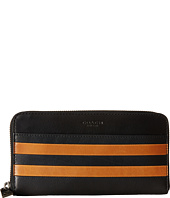 COACH - Modern Varsity Stripe Accordian Wallet