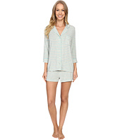 P.J. Salvage - Blue Stripe PJ Short Set