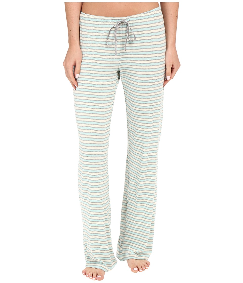 P.J. Salvage Blue Stripe Lounge Pants Blue Womens Pajama